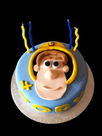 Fireman Sam Vanilla Cake