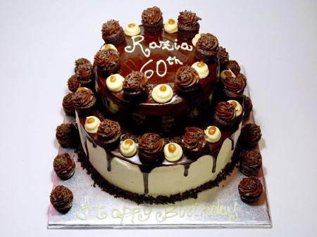 Salted Caramel Cupcake's Cake