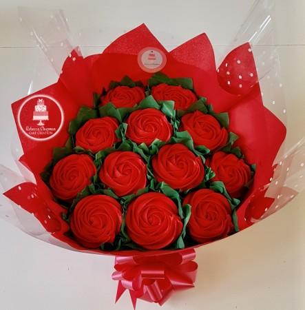Valentines Cupcake Bouquet
