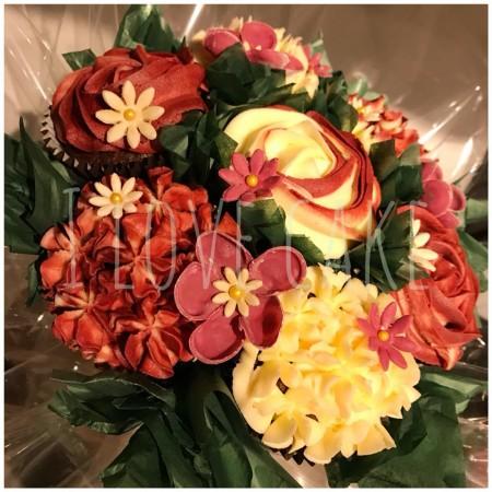 I love cake mk milton keynes cupcake bouquets delivered milton cupcake bouquet 7 cupcakes izmirmasajfo Choice Image