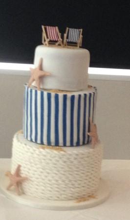 Seaside cake