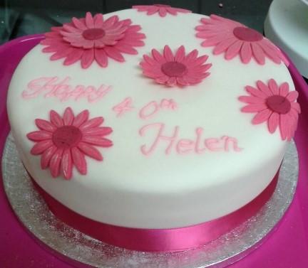 Flower Birthday/celebration cake