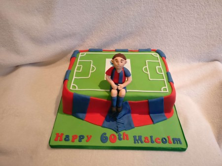 Football Cake- Can be Gluten Free