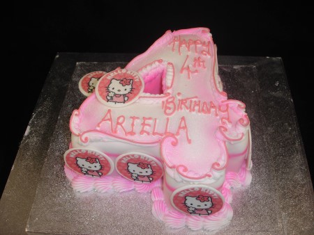 Strange Number 4 Birthday Cake Celtic Cakes Studio Personalised Birthday Cards Epsylily Jamesorg