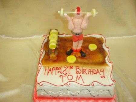 Birthday Cake - Body Builder