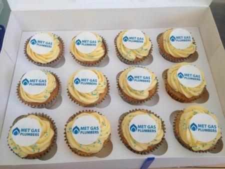 Corporate/Logo Cupcakes