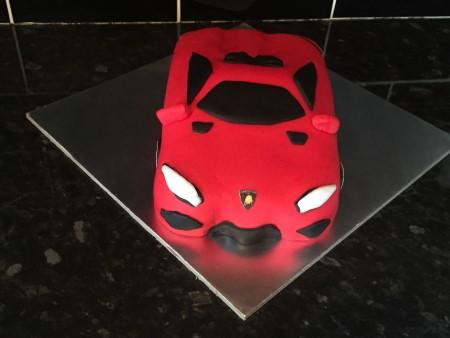 Lamborghini Cake- Blackpool