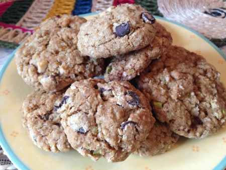Chocolate chips Oats Cookies