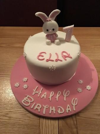 Birthday cake- with model