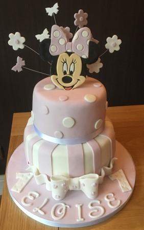 2 Tier Disney themed Cake