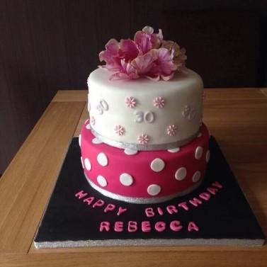 Birthday cake- 2 Tier