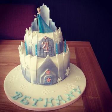 2 Tier Disney themed Cake.