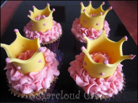 'Queen for the day' Cupcakes