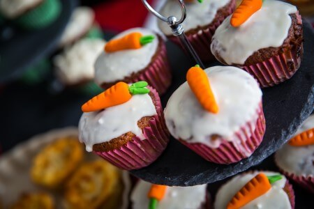 Carrot cupcakes - GLUTEN FREE