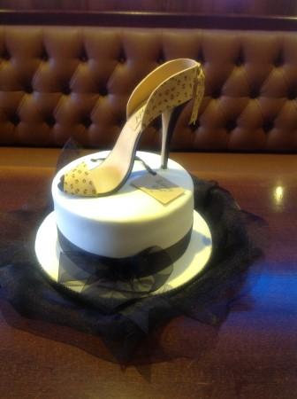 An elegant shoe