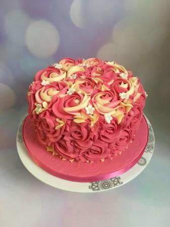 Blossom Rosette Cake
