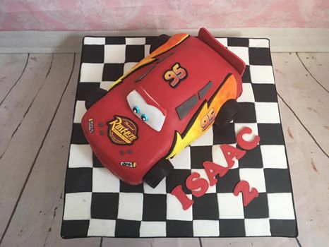 Carved Car Cakes