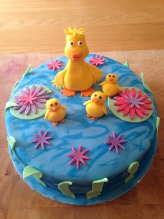 Novelty Cake - Ducks