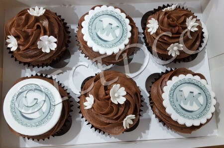 Box of  Chocolate Cupcakes