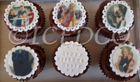 Box of PersonalisedCupcakes