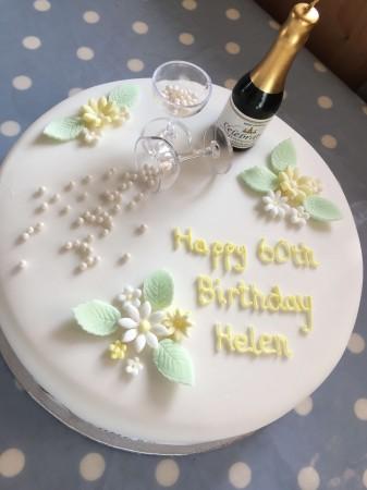 Iced Celebration Cake Lemon