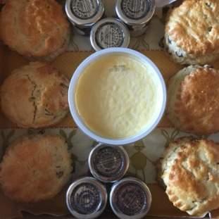 Scones, Jam and Cream Box