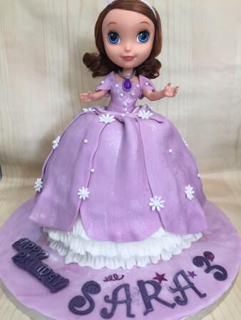 Children's Cake-doll