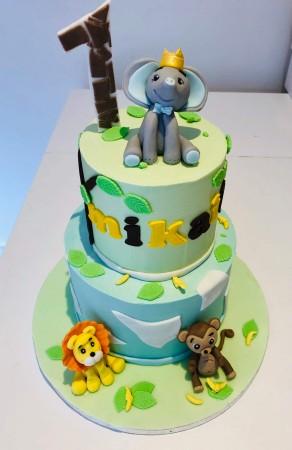 Jungle Cake - 2 Tier