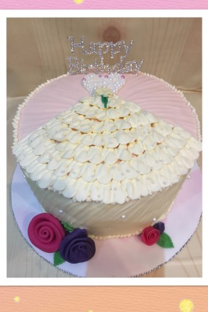 Bespoke Dress Cake