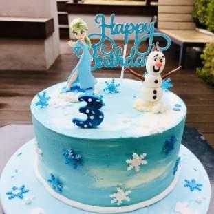 Children's Frozen Cake