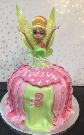 Children's Cake- doll style