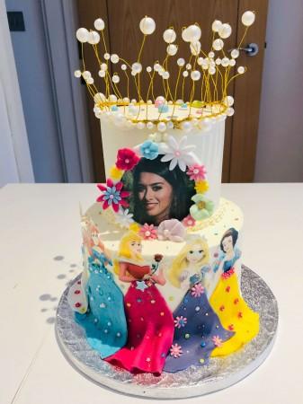 Baby shower Cake - 2 Tier