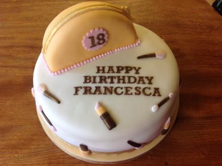 Bespoke Gym/ malteser cascading cake 2 Tier