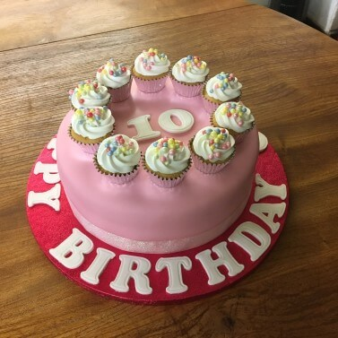 Mini Cupcake Cake