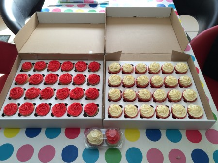 Boxed Cupcakes