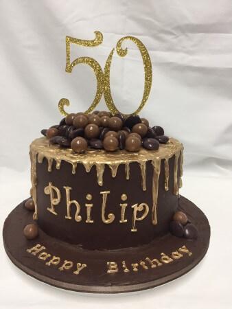 Chocolate Drip/Overload Cake