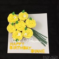 Cupcake Bouquet Flat