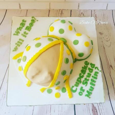 Baby shower - Baby bump Cake