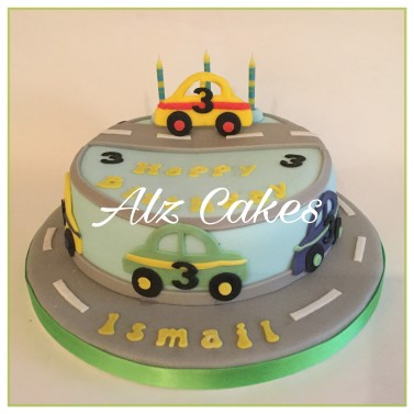 Cars Birthday Cake!