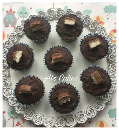 Bounty Bar Cupcakes