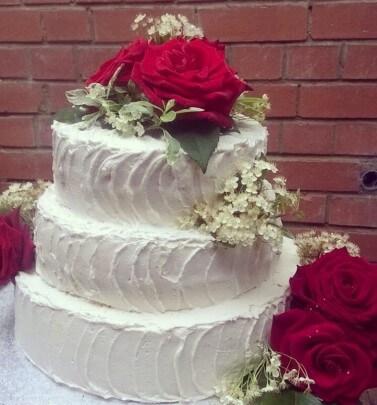 Wedding/Engagement Cake
