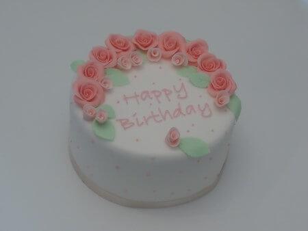 Roses Cake - Vanilla and Raspberry