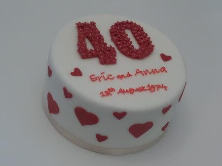 Anniversary Cake - Vanilla and Raspberry