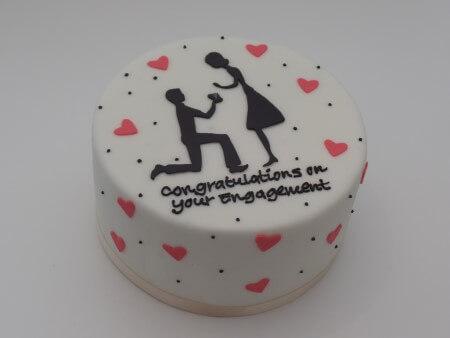 Engagement - Vanilla and Raspberry