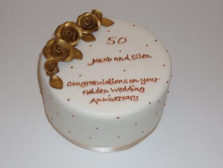 Anniversary Roses Cake - Vanilla and Raspberry