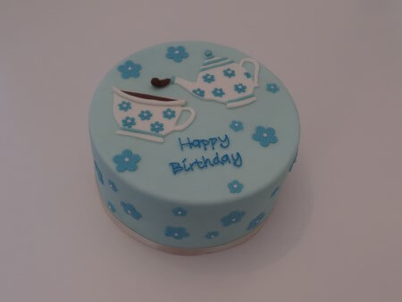 Afternoon Tea Cake - Vanilla and Raspberry