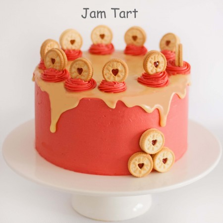 Jam Tart Layer Cake