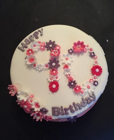 Celebration Fruit or sponge cake