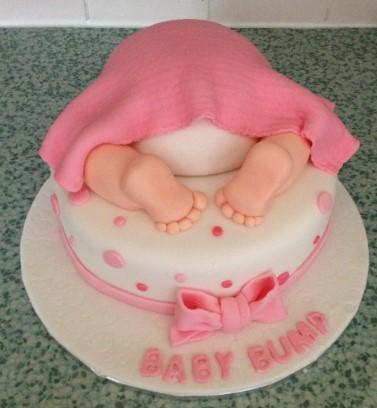 Baby shower/new baby cake