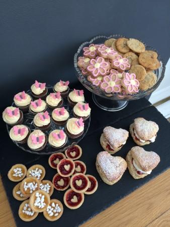 Children's mini teatime treats